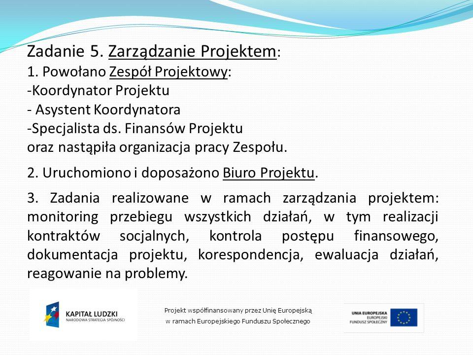 Zadanie 5. Zarządzanie Projektem: