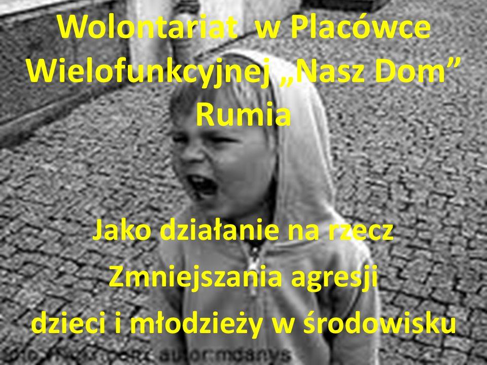 """Wolontariat w Placówce Wielofunkcyjnej """"Nasz Dom Rumia"""