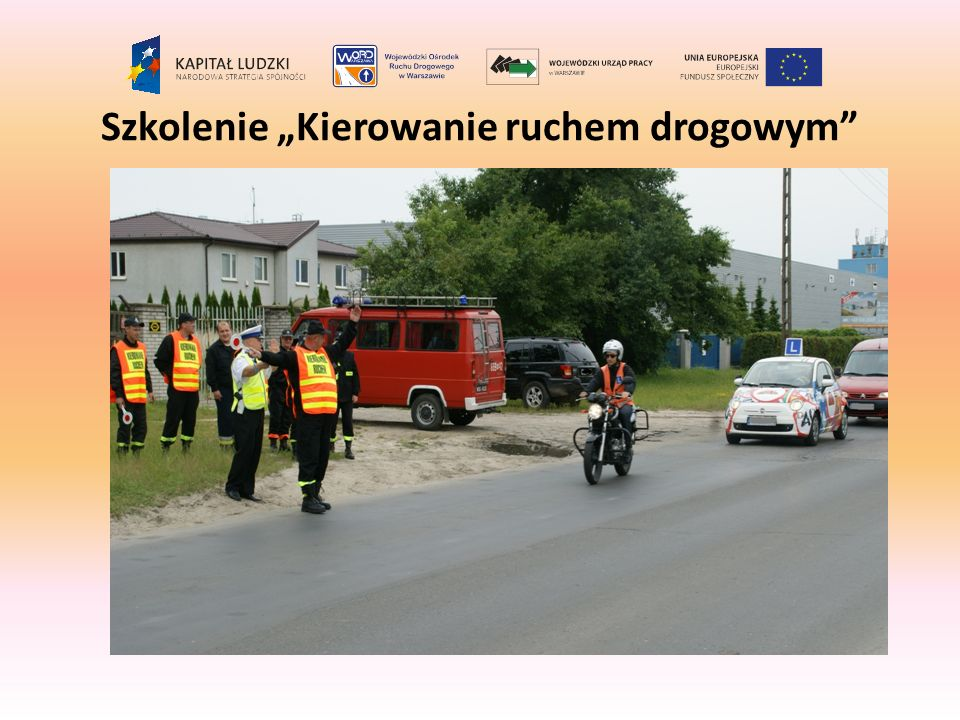 """Szkolenie """"Kierowanie ruchem drogowym"""
