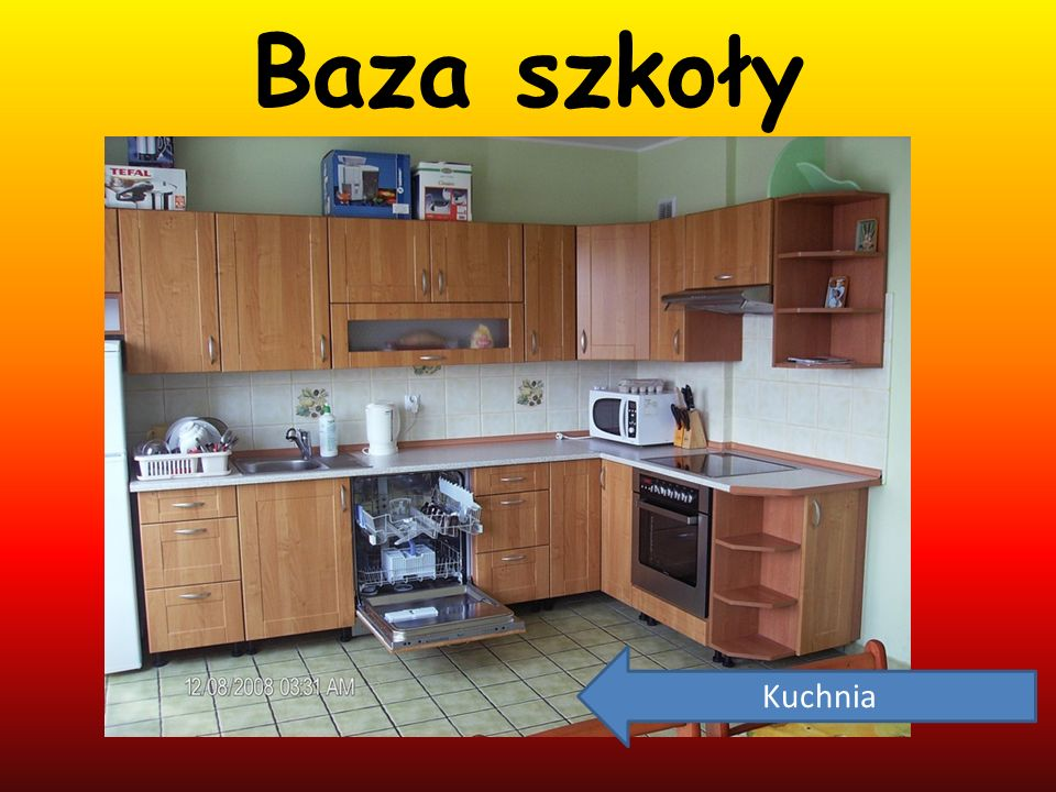 Baza szkoły Kuchnia