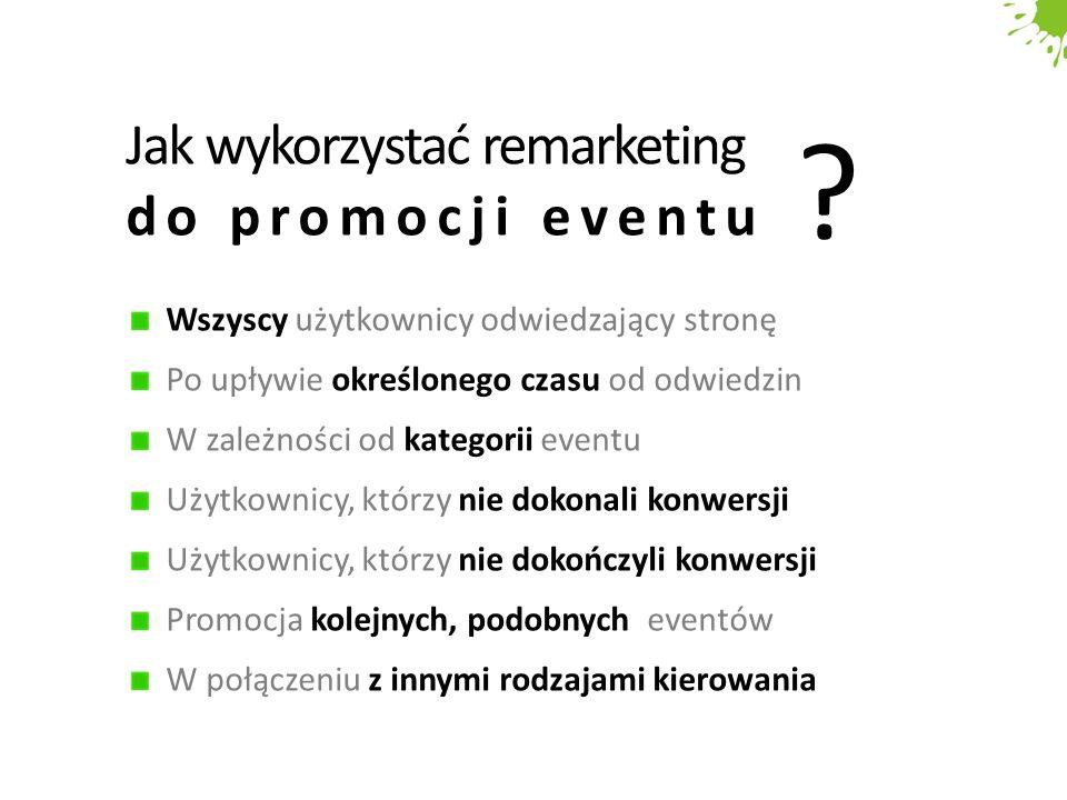 Jak wykorzystać remarketing do promocji eventu