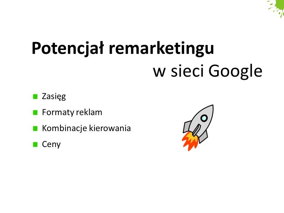 Potencjał remarketingu w sieci Google