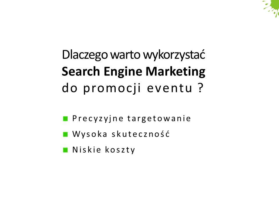 Dlaczego warto wykorzystać Search Engine Marketing do promocji eventu