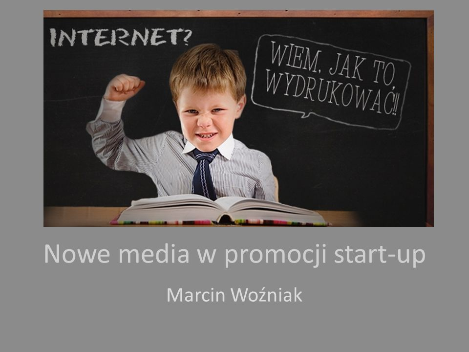 Nowe media w promocji start-up