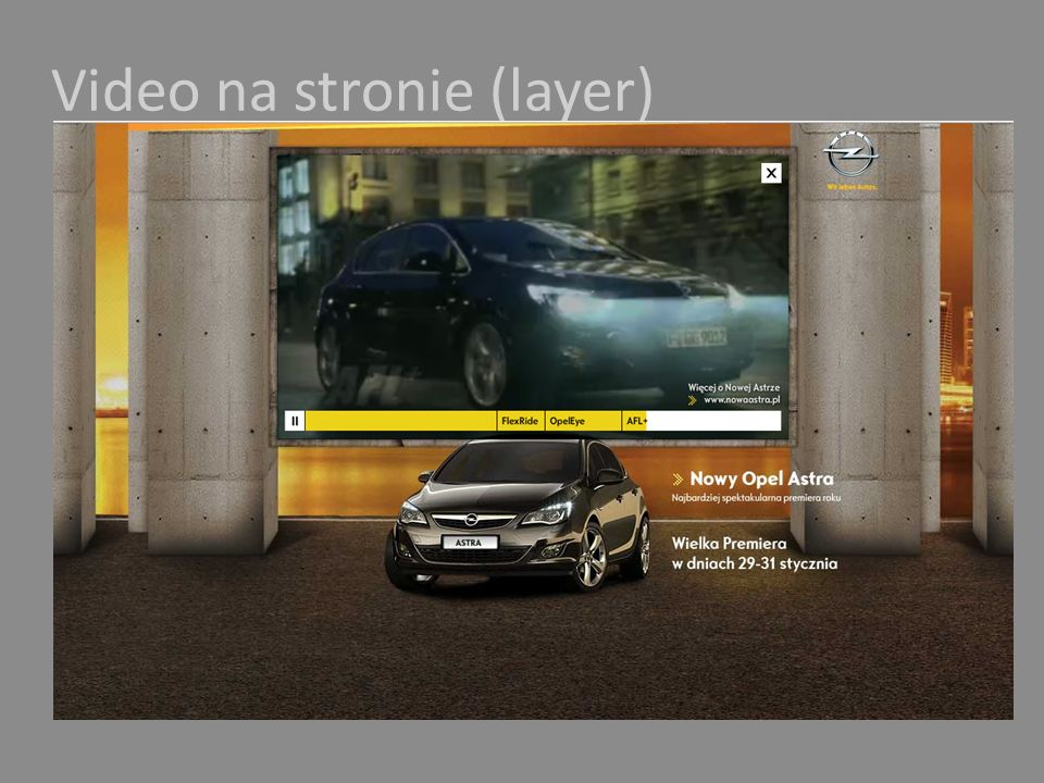Video na stronie (layer)