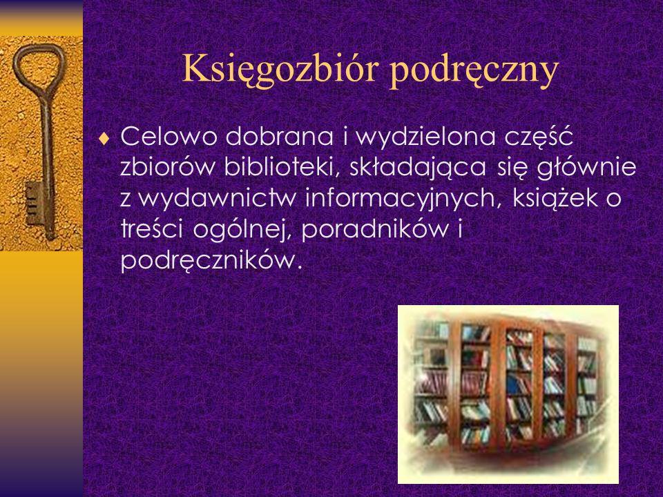 Księgozbiór podręczny