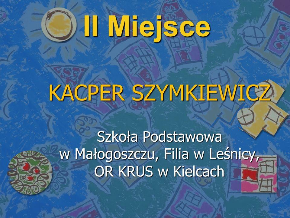 Szkoła Podstawowa w Małogoszczu, Filia w Leśnicy, OR KRUS w Kielcach