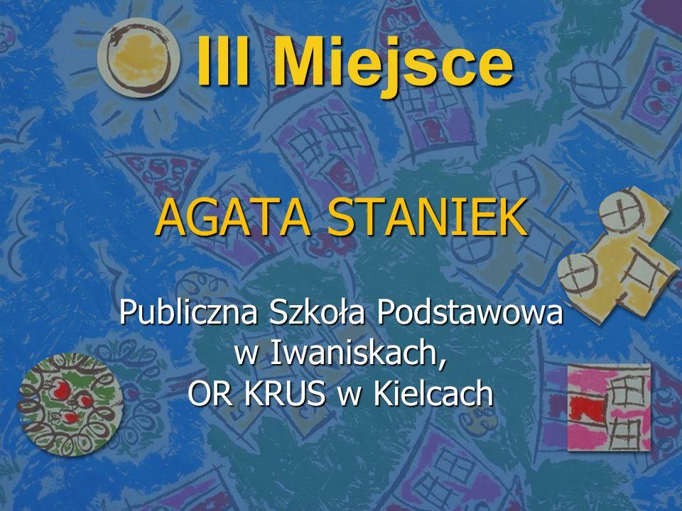 Publiczna Szkoła Podstawowa w Iwaniskach, OR KRUS w Kielcach