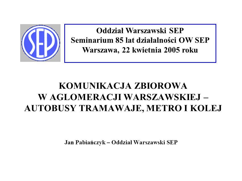 Jan Pabiańczyk – Oddział Warszawski SEP