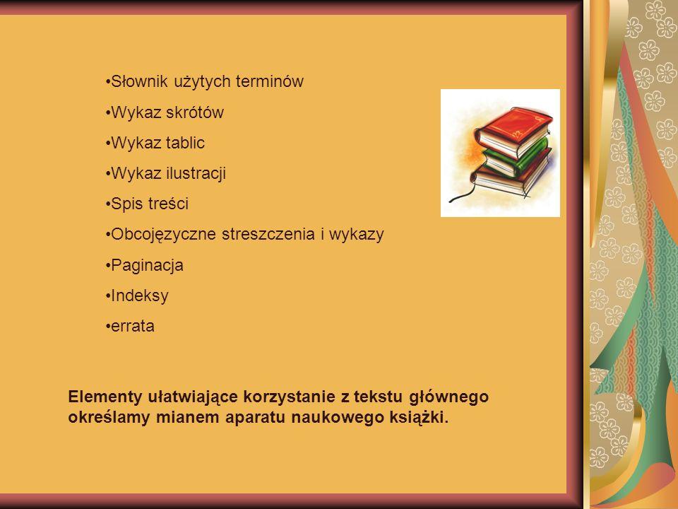 Słownik użytych terminów
