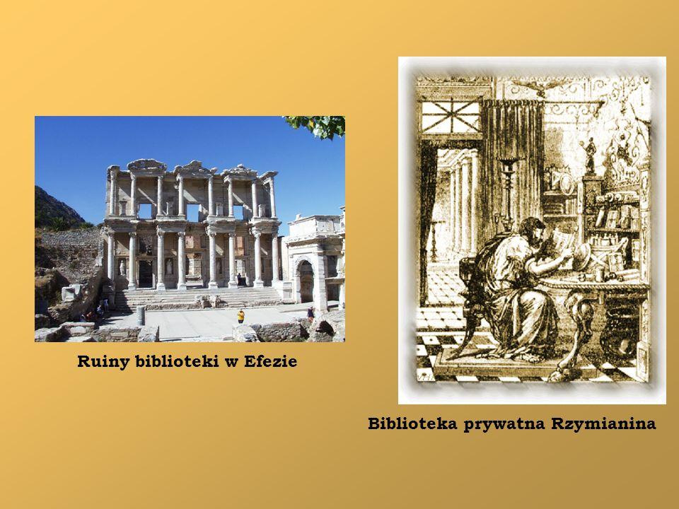 Ruiny biblioteki w Efezie