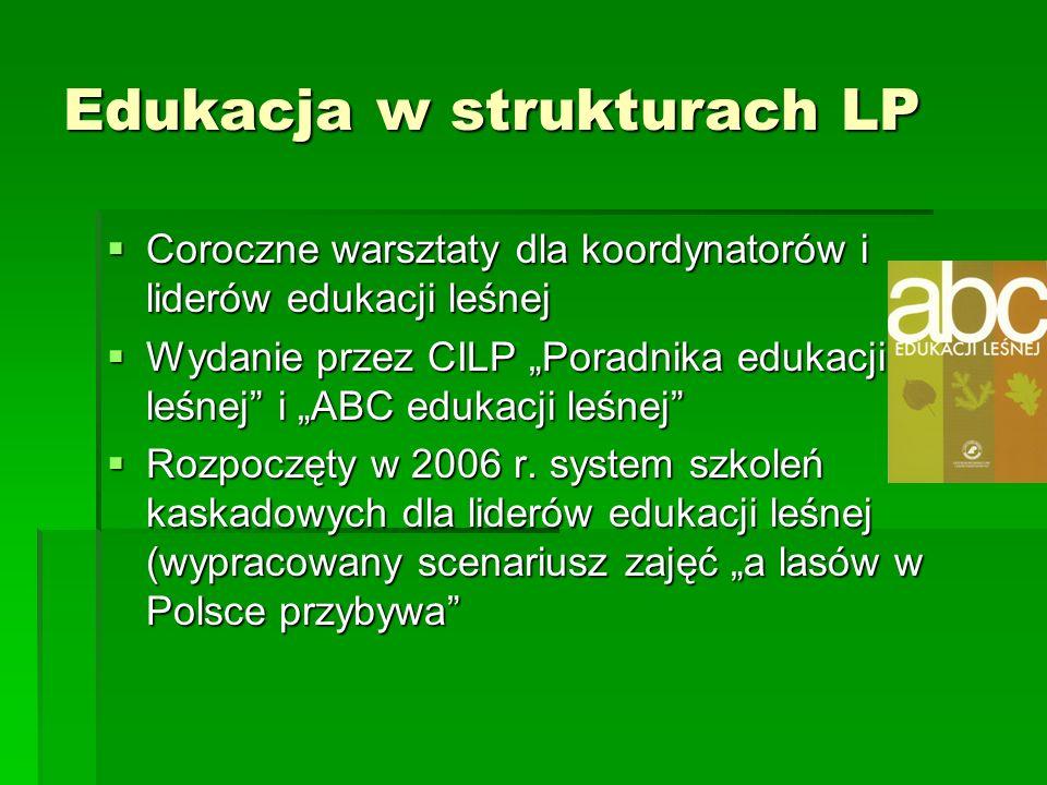 Edukacja w strukturach LP