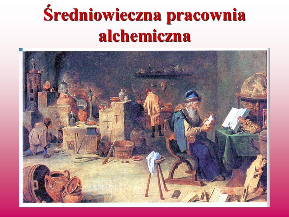 Średniowieczna pracownia alchemiczna