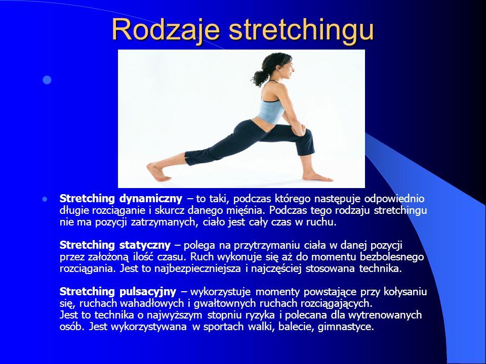 Rodzaje stretchingu