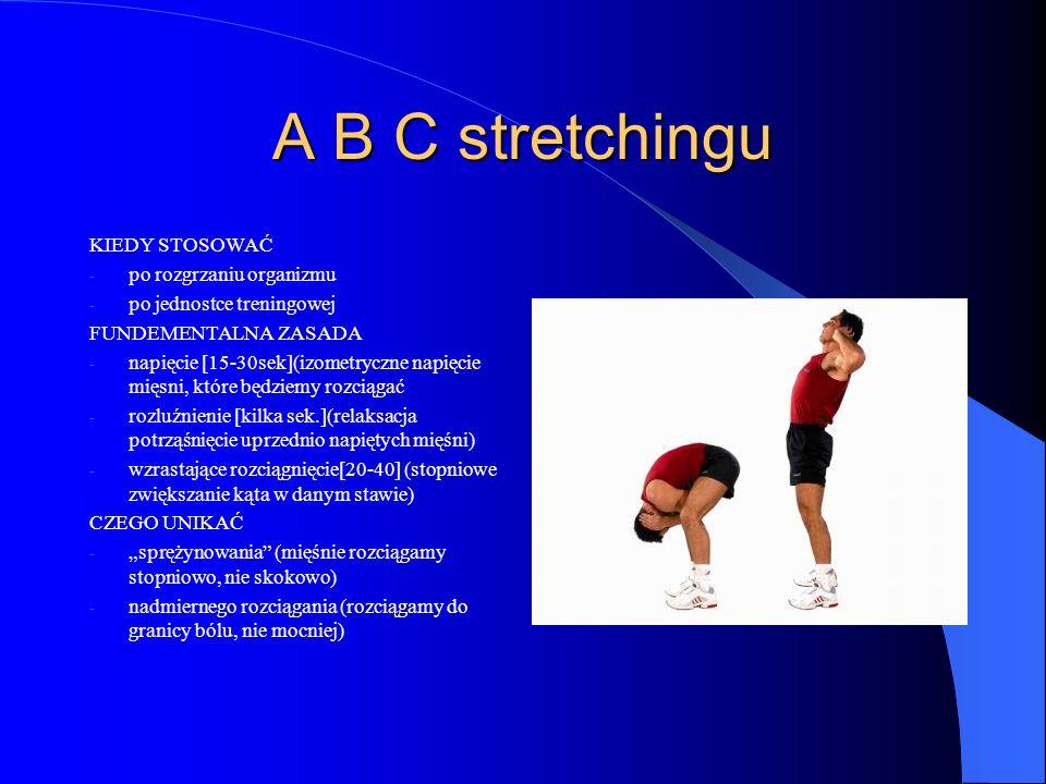 A B C stretchingu KIEDY STOSOWAĆ po rozgrzaniu organizmu