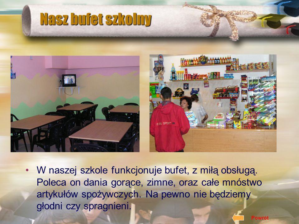 Nasz bufet szkolny