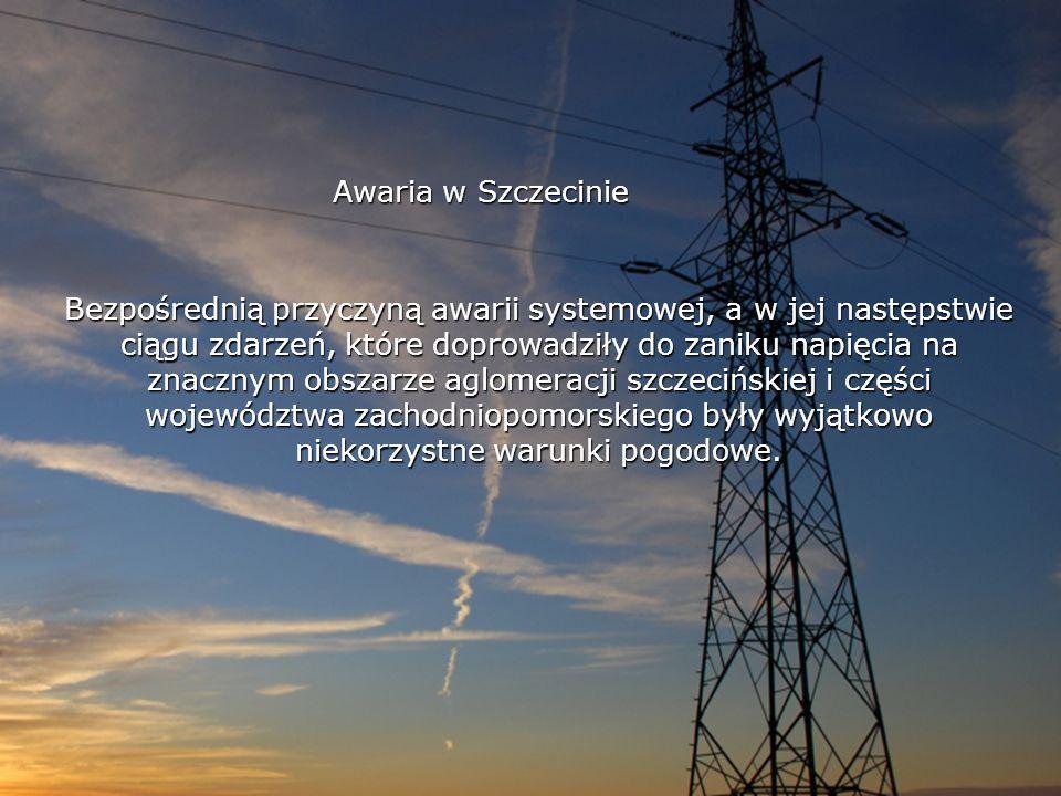 Awaria w Szczecinie