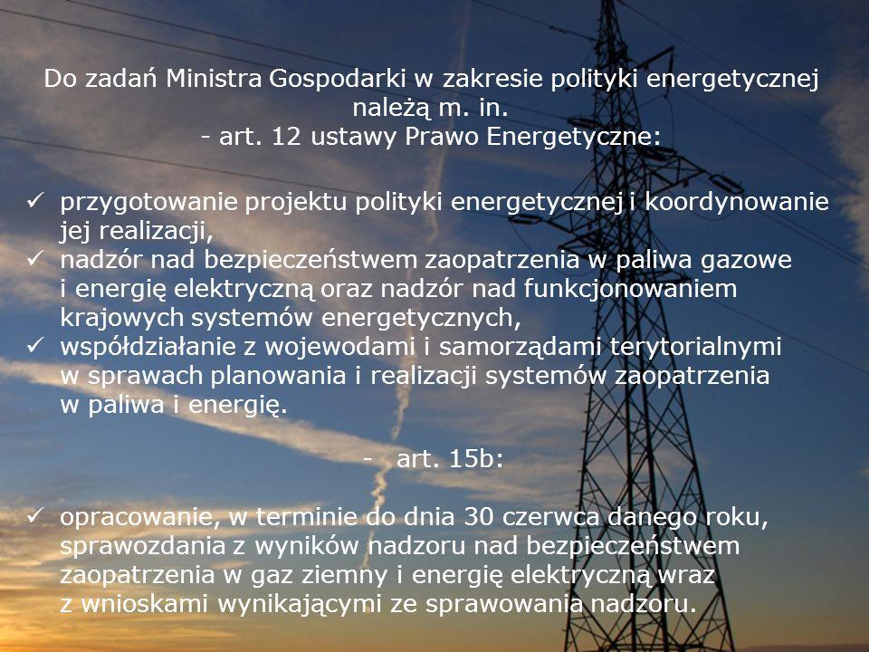 - art. 12 ustawy Prawo Energetyczne: