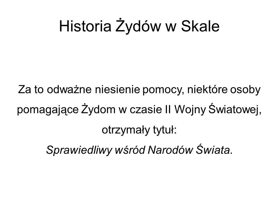 Sprawiedliwy wśród Narodów Świata.