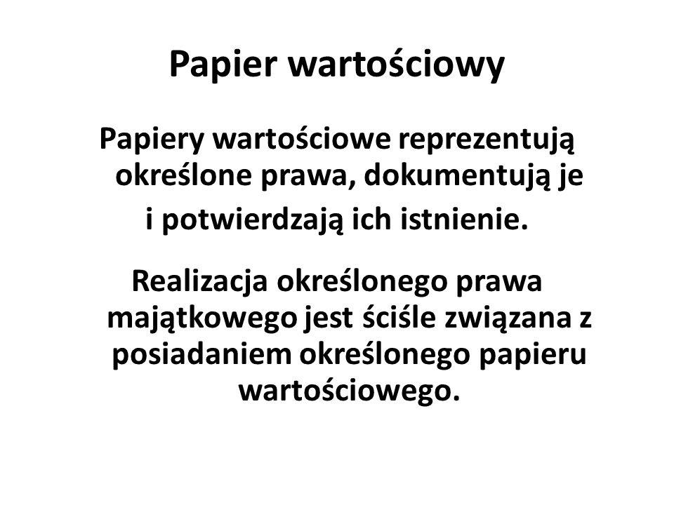 Papier wartościowy