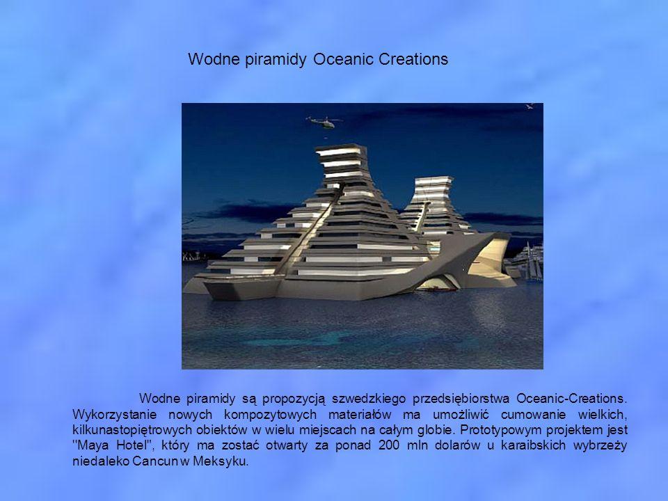 Wodne piramidy Oceanic Creations