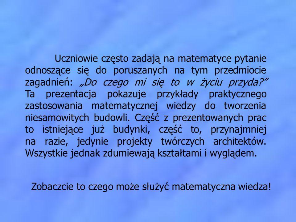 Zobaczcie to czego może służyć matematyczna wiedza!