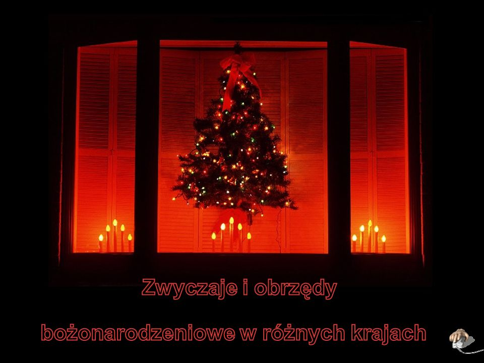 bożonarodzeniowe w różnych krajach