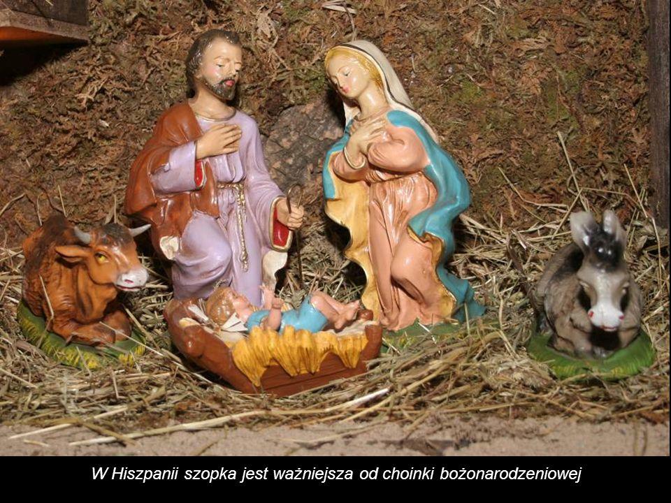 W Hiszpanii szopka jest ważniejsza od choinki bożonarodzeniowej