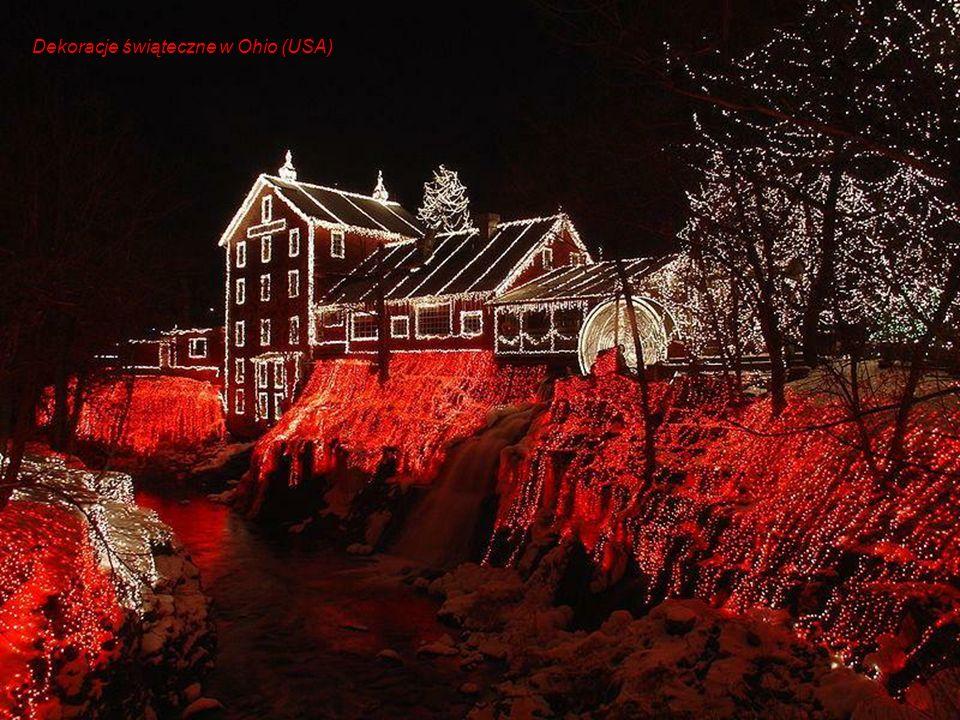 Dekoracje świąteczne w Ohio (USA)