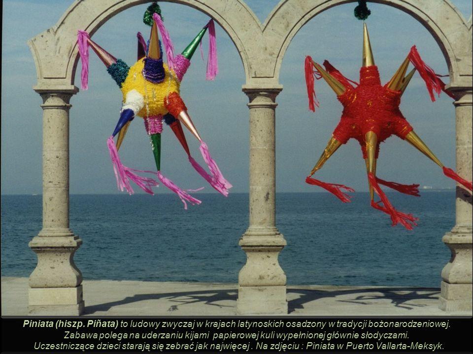 Piniata (hiszp. Piñata) to ludowy zwyczaj w krajach latynoskich osadzony w tradycji bożonarodzeniowej.