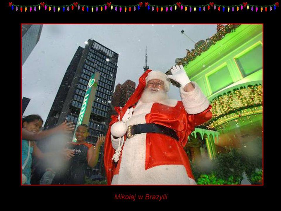 Mikołaj w Brazylii