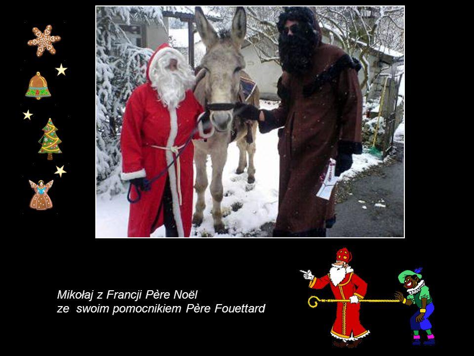 Mikołaj z Francji Père Noël