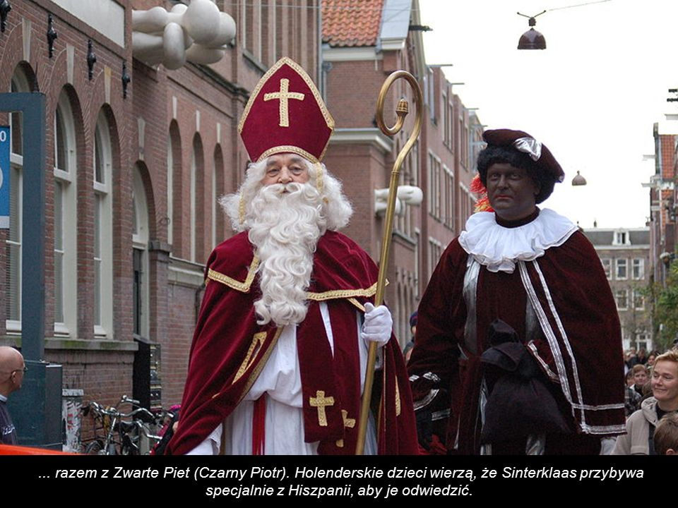 razem z Zwarte Piet (Czarny Piotr)