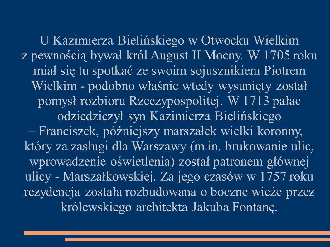 U Kazimierza Bielińskiego w Otwocku Wielkim