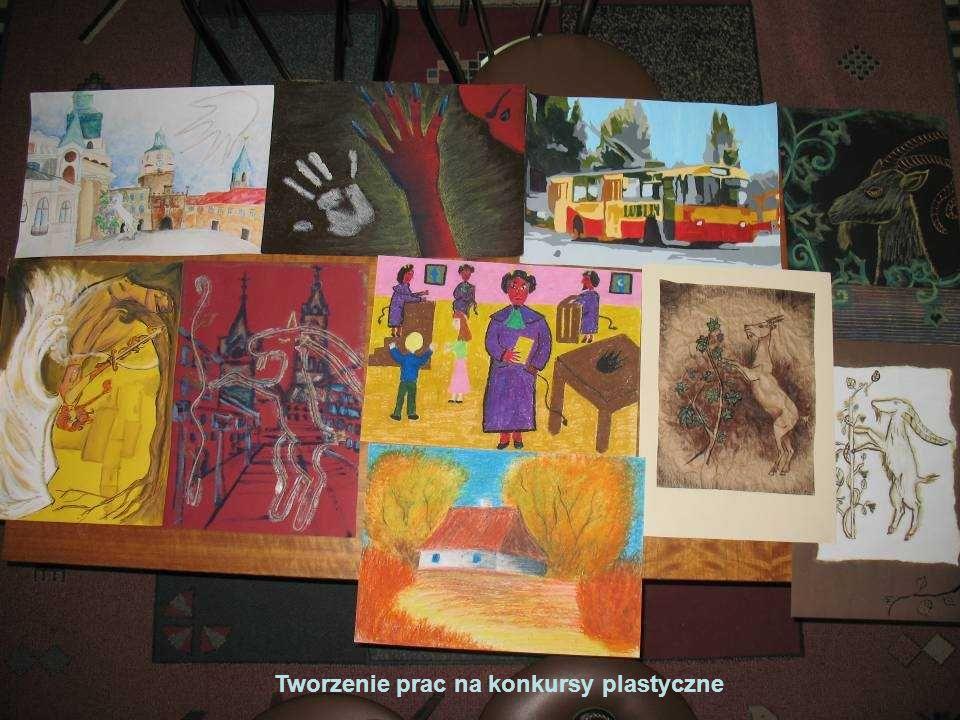 Tworzenie prac na konkursy plastyczne