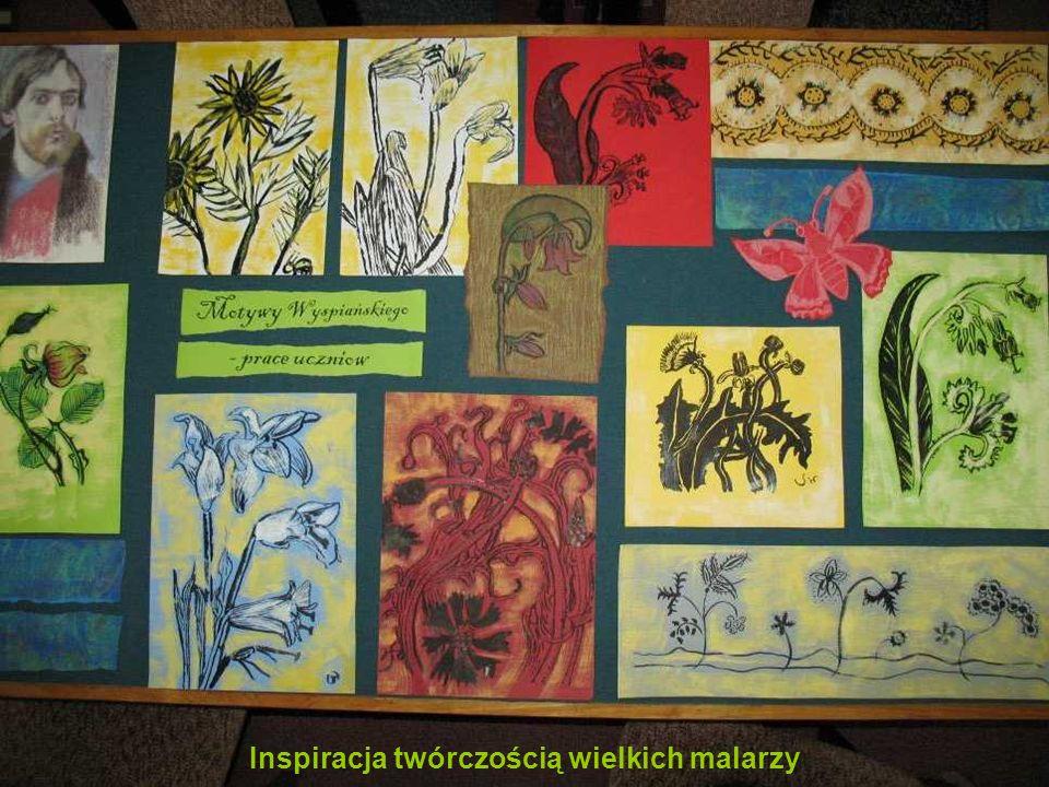Inspiracja twórczością wielkich malarzy
