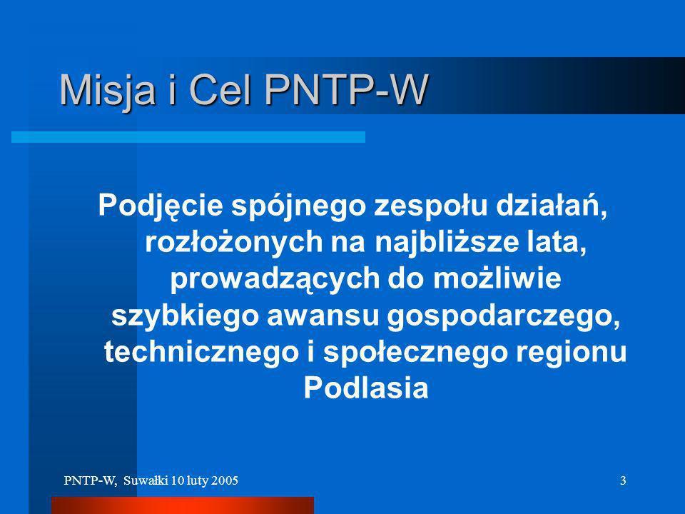 Misja i Cel PNTP-W