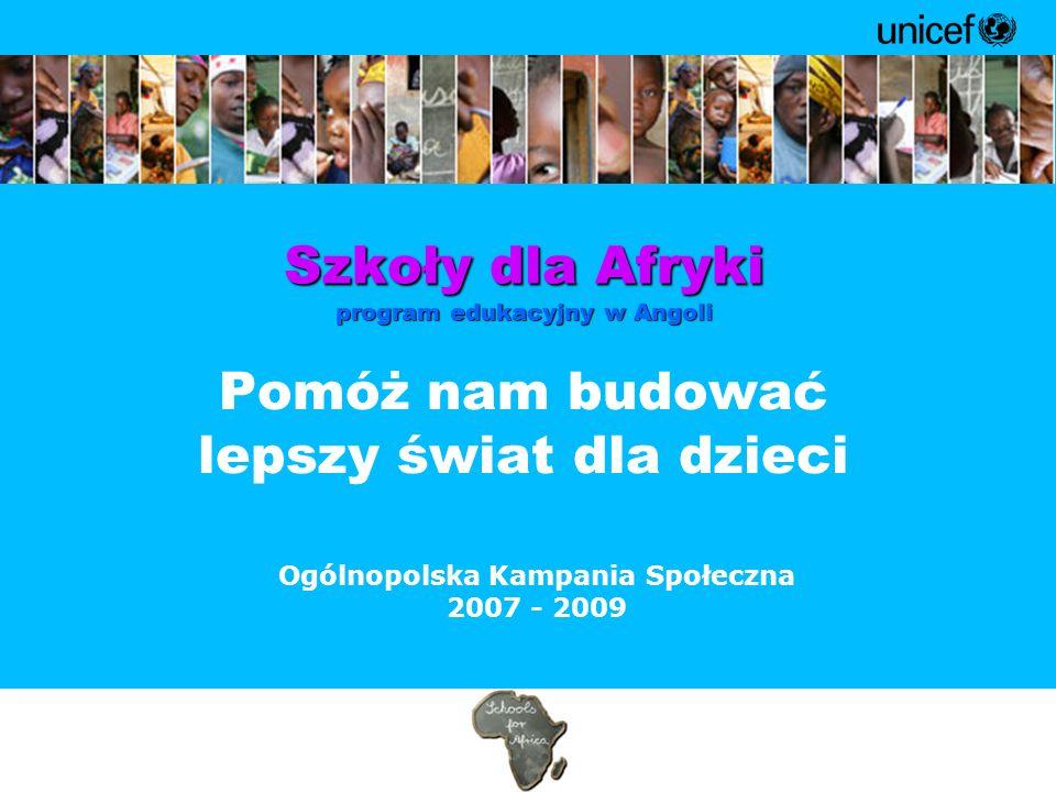 Szkoły dla Afryki program edukacyjny w Angoli