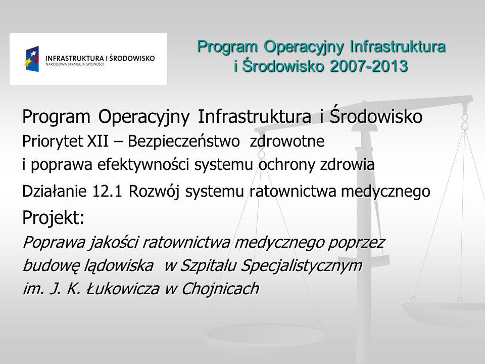 Program Operacyjny Infrastruktura i Środowisko 2007-2013