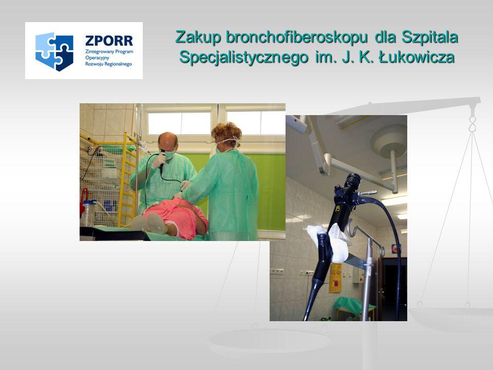 Zakup bronchofiberoskopu dla Szpitala Specjalistycznego im. J. K