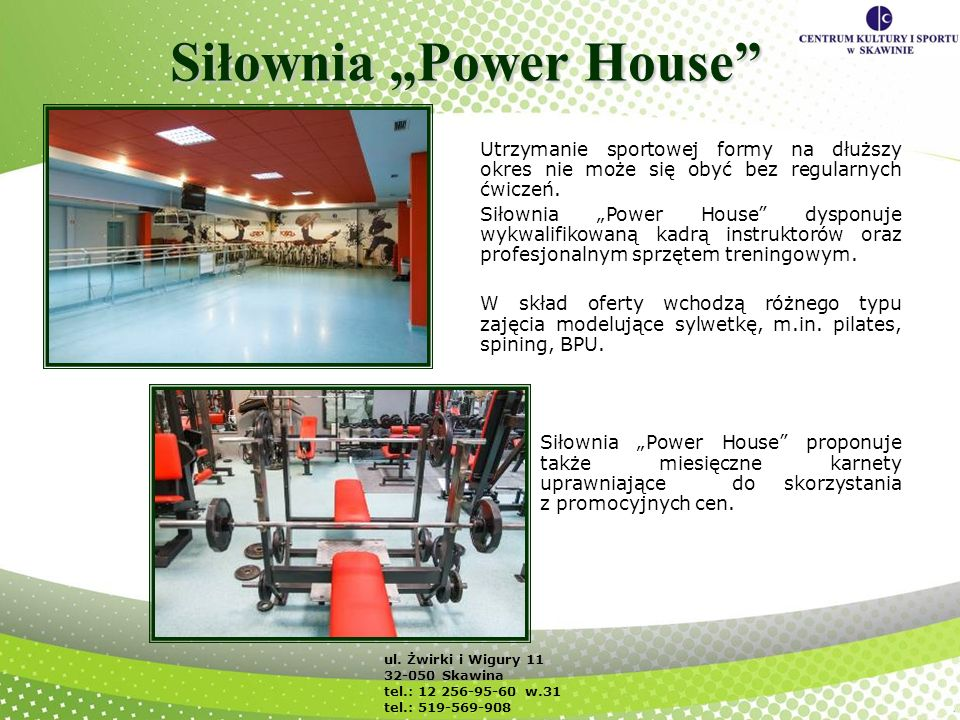 "Siłownia ""Power House"