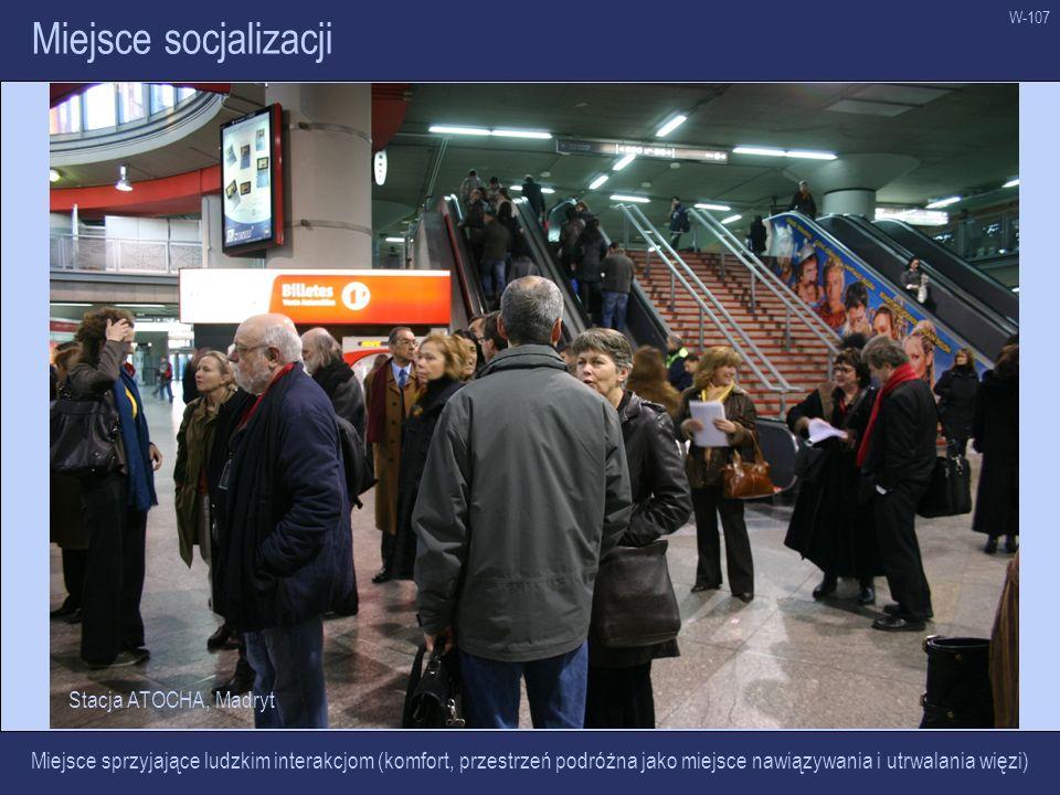 Miejsce socjalizacji Stacja ATOCHA, Madryt
