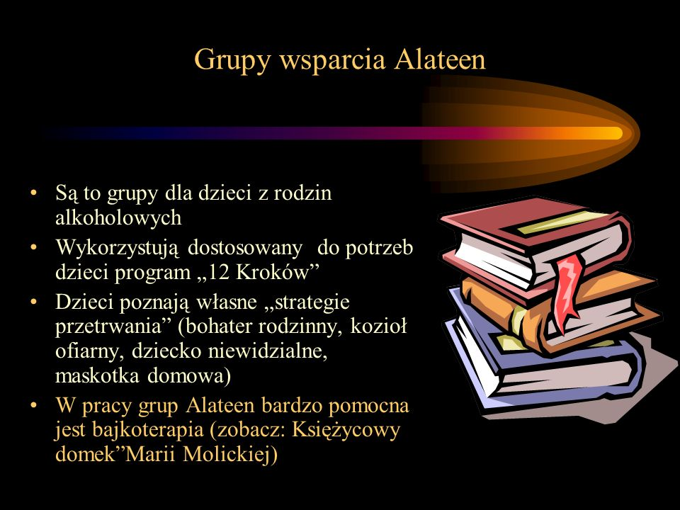Grupy wsparcia Alateen