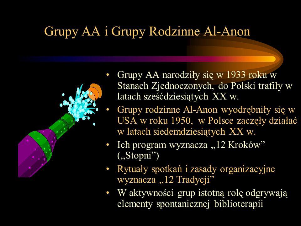 Grupy AA i Grupy Rodzinne Al-Anon
