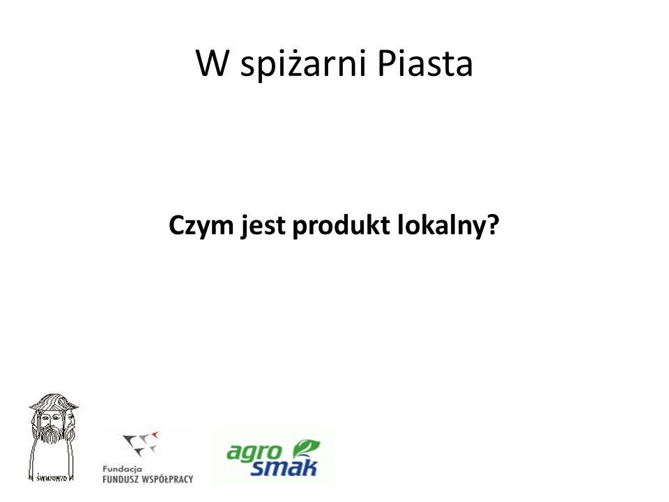 Czym jest produkt lokalny