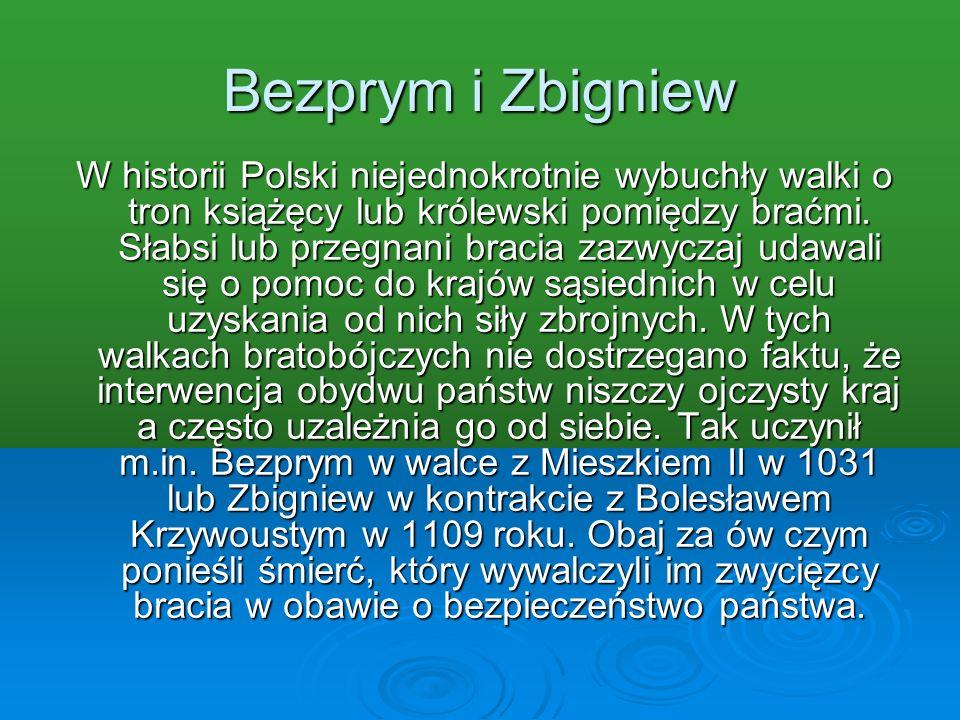 Bezprym i Zbigniew