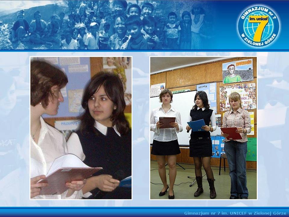 Gimnazjum nr 7 im. UNICEF w Zielonej Górze
