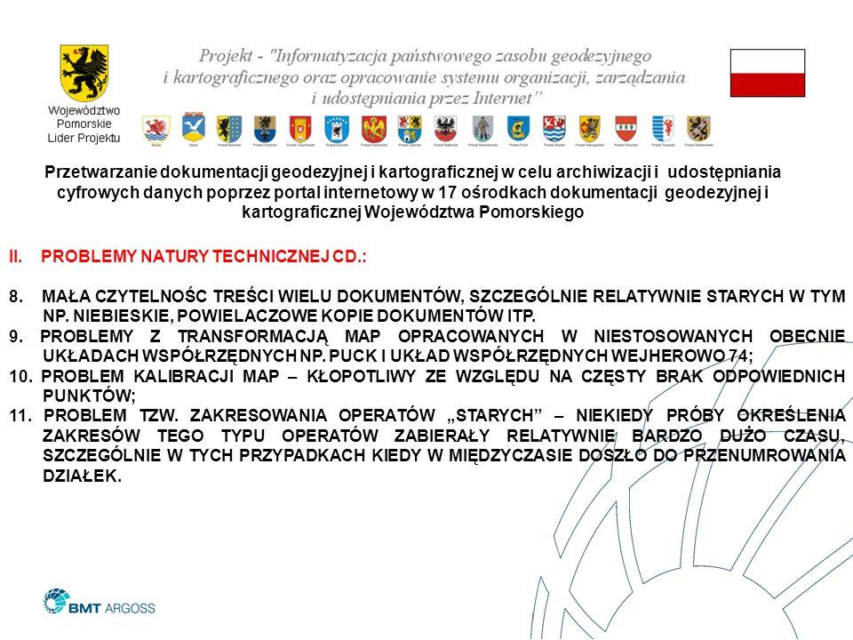 II. PROBLEMY NATURY TECHNICZNEJ CD.: