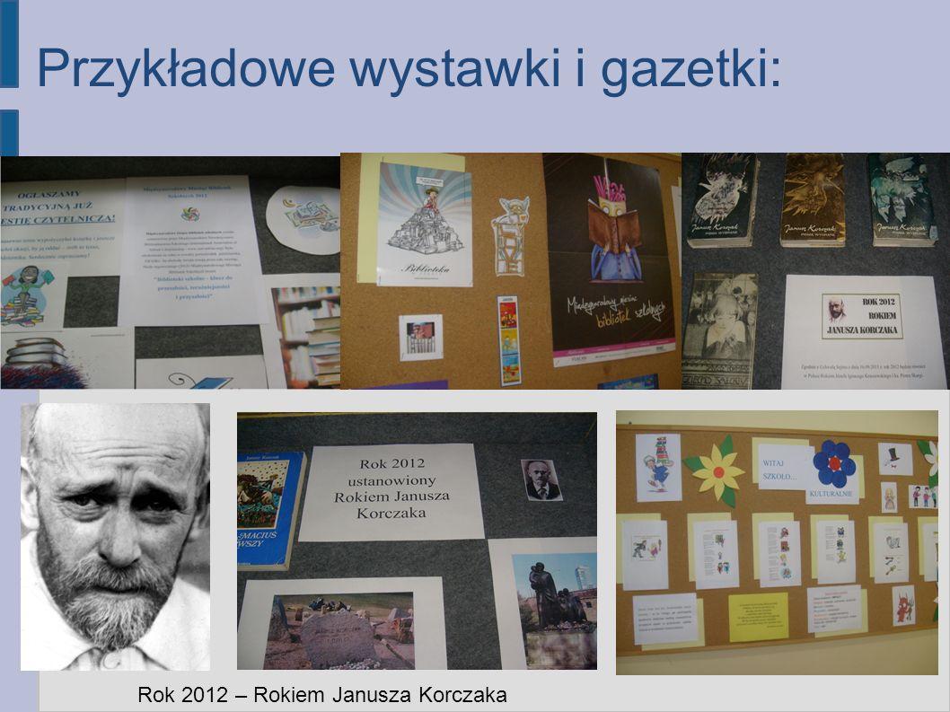 Przykładowe wystawki i gazetki: