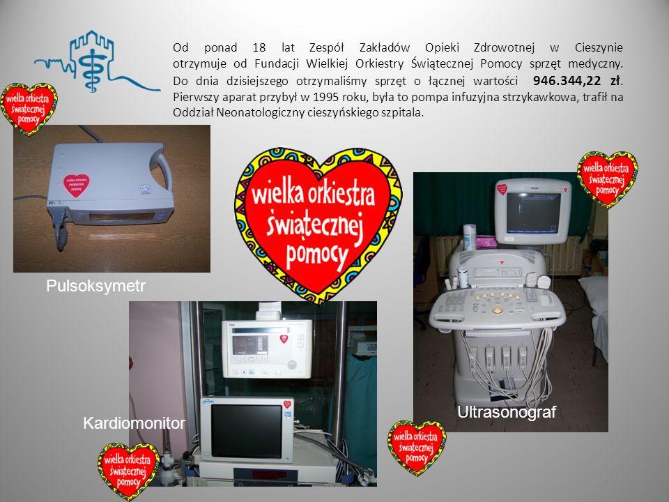 Pulsoksymetr Ultrasonograf Ultrasonograf Kardiomonitor